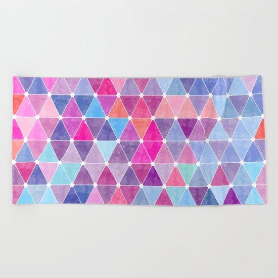 Lovely geometric Pattern Beach Towel