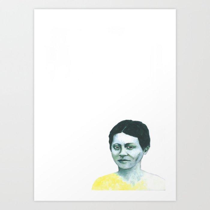 Les disparus 6 Art Print
