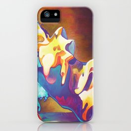 The United Colours of Orgasm Thermal Nude iPhone Case