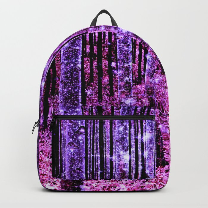 Magical Forest Pink & Purple Backpack