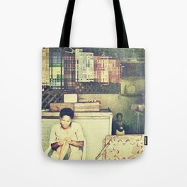 St Lucian Mother Tote Bag