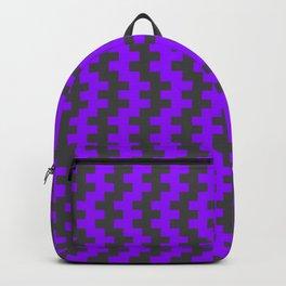 Stripe Dancer Purple Backpack