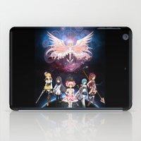 madoka magica iPad Cases featuring Madoka Magica by Yiji