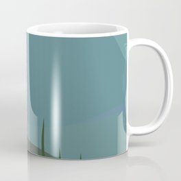 Blue-footed Booby in the wild. Coffee Mug