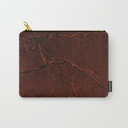 all red Carry-All Pouch