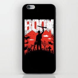 This... is my BOOMSTICK! iPhone Skin