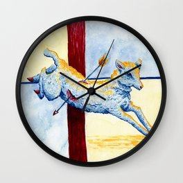 The Little Lamb Wall Clock