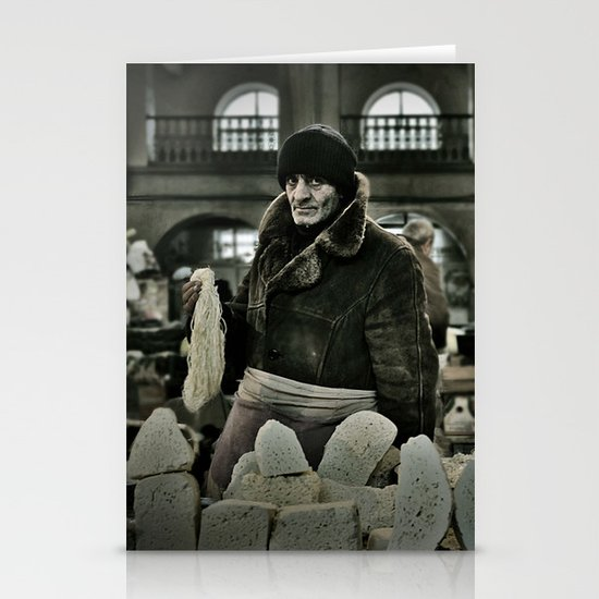 Cheese Seller Stationery Cards
