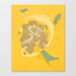 Song for the City Canvas Print