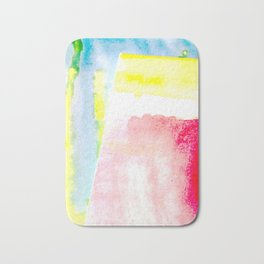 Primary New Year Colors Bath Mat