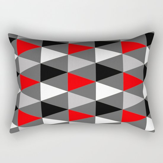 Abstract #363 Rectangular Pillow