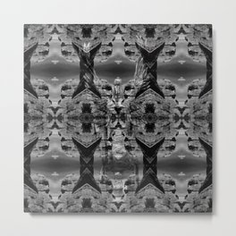Margin Sculpture Metal Print