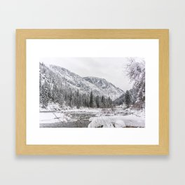 Winter Wilderness Framed Art Print