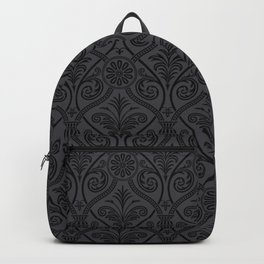 Black Demask Backpack