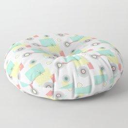 Atomic Retro Geo Floor Pillow
