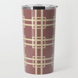 Plum Spice Moods Lattice Travel Mug