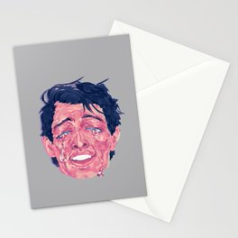 Attractive Crying Man Stationery Cards