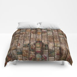 Encrypted Map Comforters
