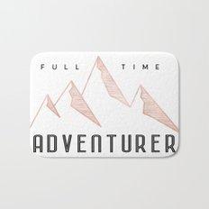 Fill Time Adventurer Rosegold Mountains Bath Mat