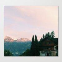 switzerland Canvas Prints featuring Switzerland by McKenzie Livingston