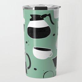 Do you even coffee? (teal) Travel Mug