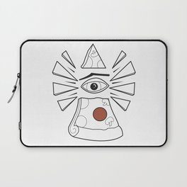 PizzaPizza Illuminati Laptop Sleeve