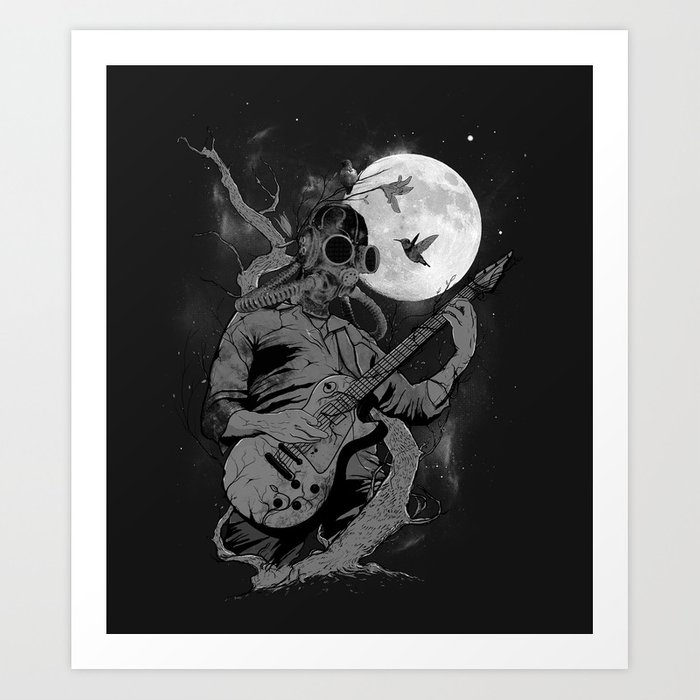 Still Remains Art Print