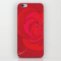 Rosa Ingrid Bergman iPhone & iPod Skin