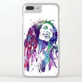 Marley Poster Clear iPhone Case