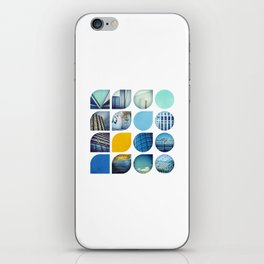 Cold Comfort Collage — The Blues iPhone Skin