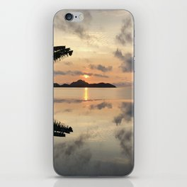 Sunset over Water iPhone Skin