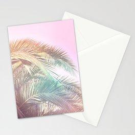 Wild palm leaves Nostalgia Stationery Cards