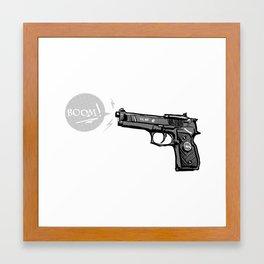 The Boom Framed Art Print