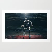 Walt Frazier - Guardians of the Garden 4/5 Art Print