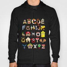 Super Mario Alphabet Hoody