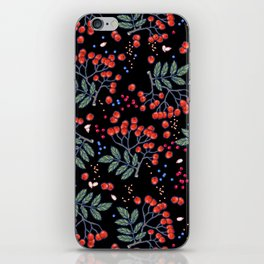 wild berries iPhone Skin