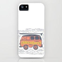 Adventure T-Shirt iPhone Case