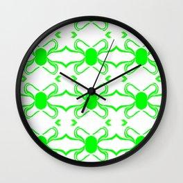 Linus Green Wall Clock