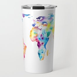 Gall–Peters projection Travel Mug