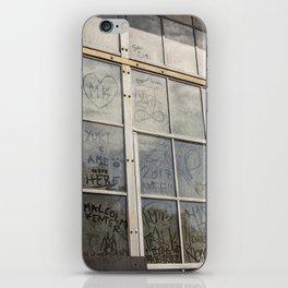 Window Art Work iPhone Skin