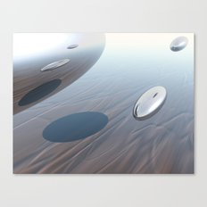 Escaping Area 51 Canvas Print