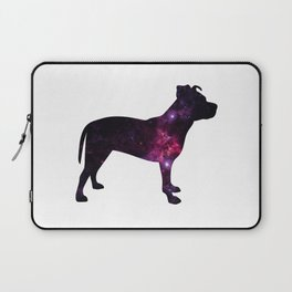 Eleven: Pitbull Space Silhouette Laptop Sleeve