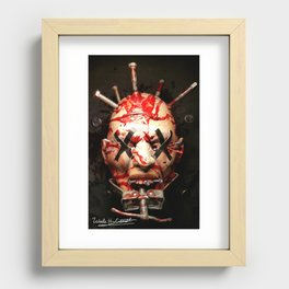 Pain Recessed Framed Print