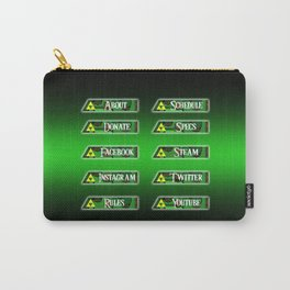 Triforce Profile Set Carry-All Pouch