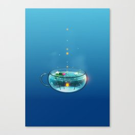 Stardrop Tea Canvas Print