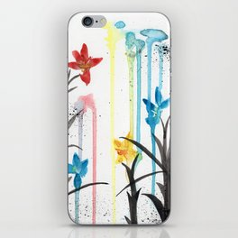 Primary Orchids iPhone Skin