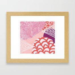 topanga Framed Art Print