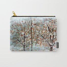 Snow Storm up Dewdrop Holler Carry-All Pouch