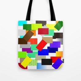 einfach farbig   (A7 B0054) Tote Bag