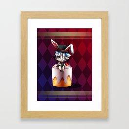 Lapins Cake Framed Art Print